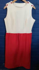 Dress  Red/White  Size: M