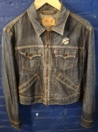 Denim zippered vest Size: M. Levi's