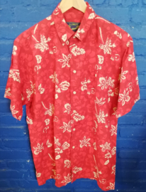 Hawaii Shirt red Size: L