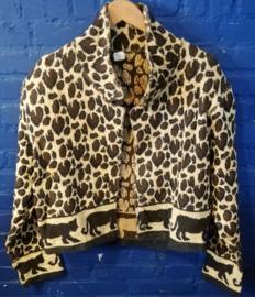 Leopard print vest, Size: M