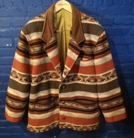 Aztec coat, size: XL