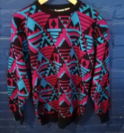 Purple-blue jumper. Ladies, size: L