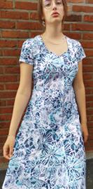 Dress white/blue Size: L/XL