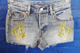 Levi's shorts with palm trees Size W24