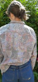 Crazy men shirt faded colours Size: L