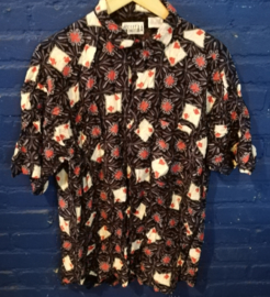 Playing cards shirt, size: XL