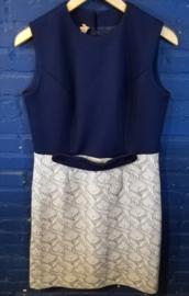 Dress white/navy blue Size XL
