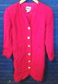 Pink blazer size: S