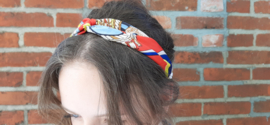 Head band red/yellow/blue