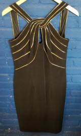 Dress black/gold Size L