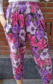 Beach pants lilac colours Size: L/XL