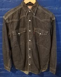 Black denim blouse, Size: S. Levi's