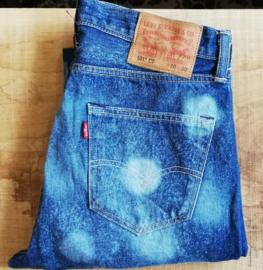 Levi´s 501 jeans  paint splash model  W 30/30