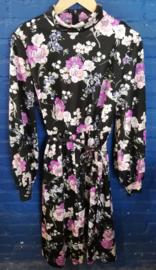 Dress black/purple Size L