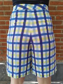 Checkered bermuda  yellow/blue Size: XL