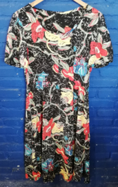 Summer dress with flowers Size: M