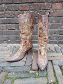 Decorative western boots - Size 40