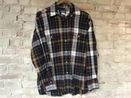 Wrangler button up shirt - Size L