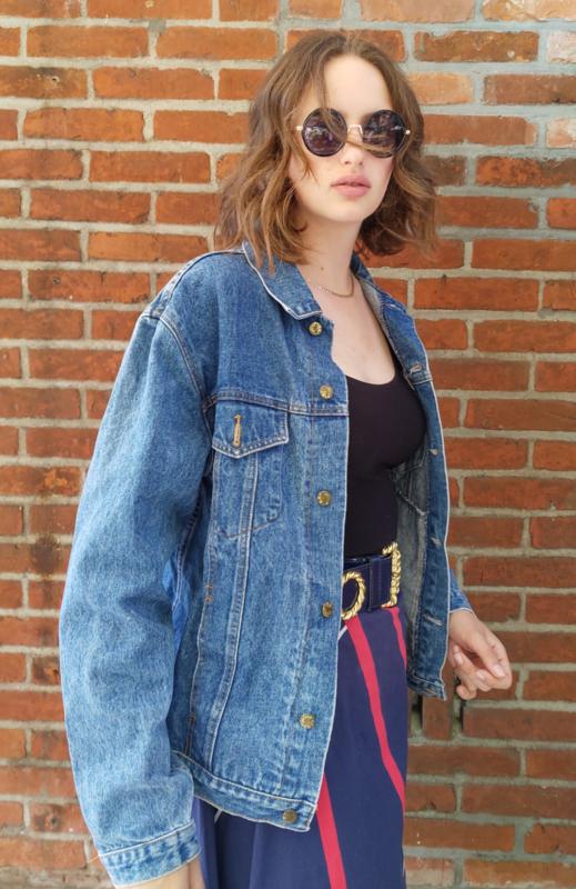 Denim jacket size: L