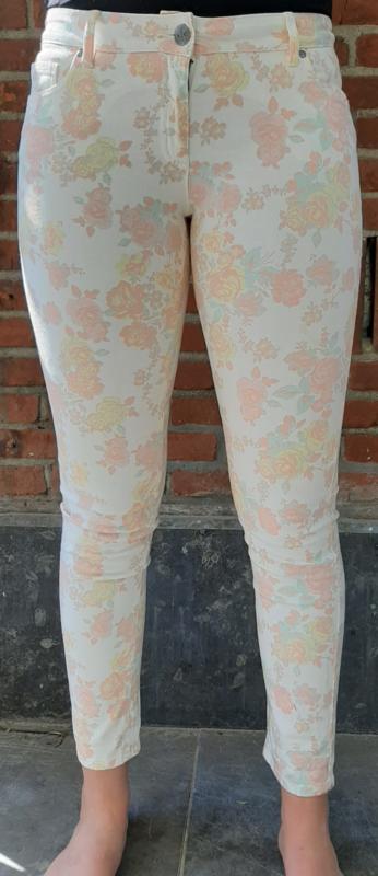 Flowered pants Size:L