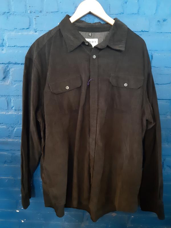 Shirt corduroy Canda Size: 3XL
