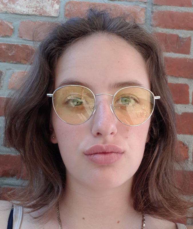 "Sunglasses "" yellow/silver"""