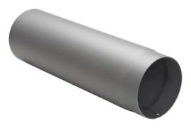 Halve meter dikwandig staal 2mm grijs/antraciet