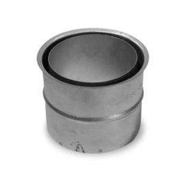 Nisbus dikwandig staal 2mm zwart