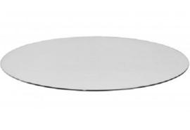 VLOERPLAAT ROND GLAS 80cm