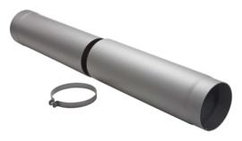 Paspijp dikwandig staal 2mm grijs/antraciet