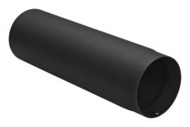 Halve meter dikwandig staal 2mm zwart