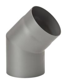 45 graden dikwandig staal 2mm grijs/antraciet
