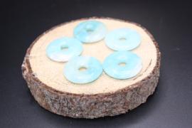 Donut hanger Amazoniet 3 cm