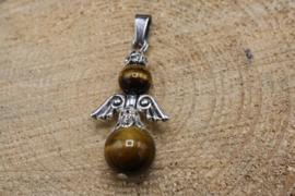 Engel hanger edelsteen Tijgeroog