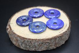 Donut hanger Lapis Lazuli 3 cm