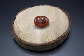 Carneool trommelsteen