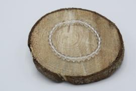 Armband Bergkristal elastisch 6 mm