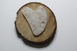 Gua sha massagesteen Bergkristal