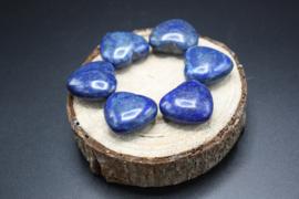 Hart van Lapis Lazuli 3 cm