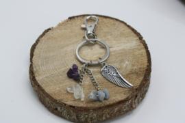 Engelen sleutelhanger 10 cm