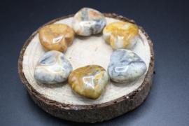 Hartjes van edelsteen