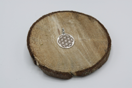 Bloem des Levens hanger 925 zilver 2,4 cm