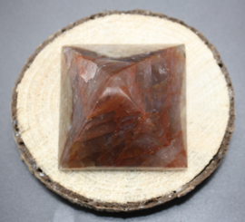 Piramides van edelsteen