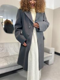 Boxy grey coat