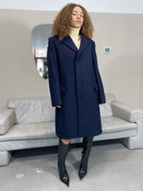 Boxy wool coat