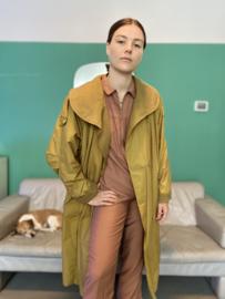 Mosterd winter coat