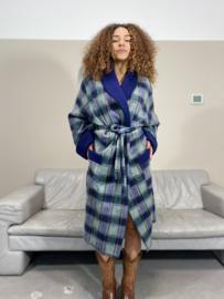 Checkered robe
