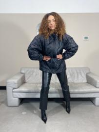 Padded shell coat