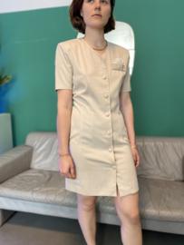 Vintage beige dress