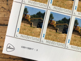 Bus Whisky postzegelvel | Collection Edition Grain to Glas | 10 stuks